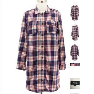 A.P.C Shirt Dress